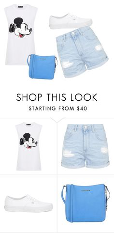 """""""Untitled #45"""" by nerminac ❤ liked on Polyvore featuring moda, Markus Lupfer, Topshop, Vans e MICHAEL Michael Kors"""