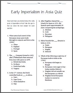 spice chart on imperialism essay