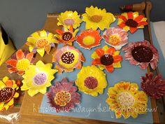 Van Gogh Clay Flowers