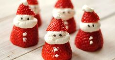These little Santas are almost too cute to eat. But we ate them all anyway. And then made more, and ate them, too. I was sent t...