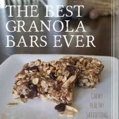 Educated Momma's Best Granola Bars Ever