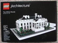 NEW LEGO Architecture 21006 The White House Washington D.C. USA