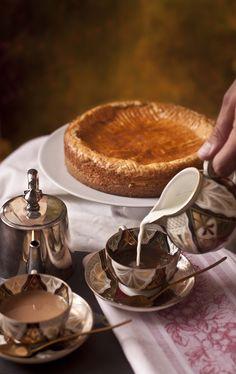 Gâteau basque à la crème by El Oso con Botas