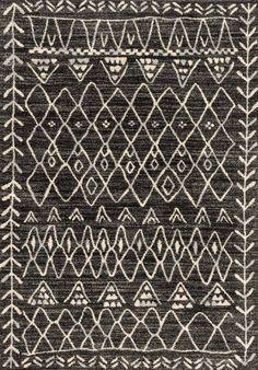 Emory Black Area Rug