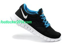 Nike Free Sneakers Black Royalblue For Men