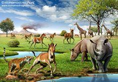 Iran, eight million years ago