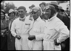 Eugenio Siena, Tazio Nuvolari and Baconin Borzacchini   Science Museum Group Collection