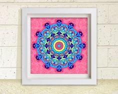 Wall Decor Printable Wall Art  7.5 inch square by StudioArt108, $4.73