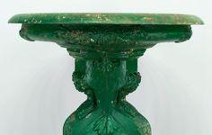 19th century French Cast Iron Bird Bath. Yes, please
