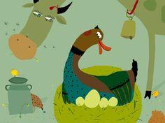 Vector illustrations by Violeta Dabija at Coroflot.com