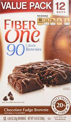 Fiber One Snacks Brownies Chocolate Fudge Value Pack, 12 Count - http://bestchocolateshop.com/fiber-one-snacks-brownies-chocolate-fudge-value-pack-12-count/