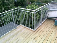 Adding wrought iron railings, hand rails or balustrades to your beautiful roof terrace is not only a great way to transform your outdoor space but it also adds the necessary safety and security elements.