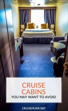 "While we believe that there is no such thing as a ""bad"" cabin on a cruise ship…"