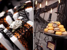 victorian halloween party   Victorian Halloween Part 2 - Invites & Decor // Hostess with the ...