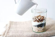 overnight oats gesund frühstück clean eating blog