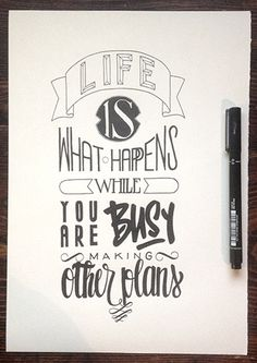 Creative Handwriting Lettering Typography Examples | Typography | Graphic Design Junction
