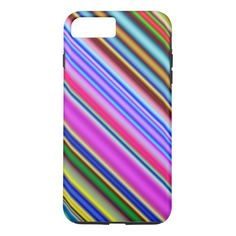 Vibrant & Eyecatching Multicolored Stripes Pattern
