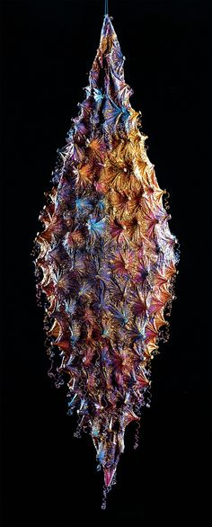 Shibori fiber art by Michelle Griffiths
