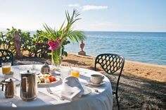 Breakfast at Horned Dorset Primavera Rincon, Puerto Rico