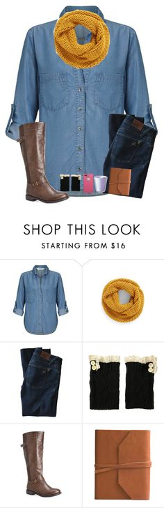"""Ootd ( my boot cuffs yellow though)"" by jiejiebear ❤ liked on Polyvore featuring Miss Selfridge, BP., DL1961 Premium Denim, Steve Madden, Avenue, Eccolo and LifeProof"