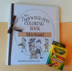 (Freebie) Thanksgiving Day Activity For the Kids-Coloring Book for Thanksgiving day/vacation OR for the Trip To Grandma's House