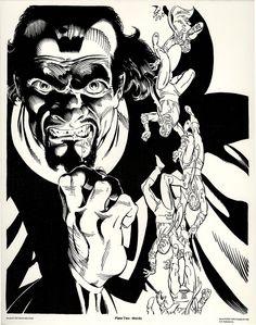 Baron Mordo by Michael Golden