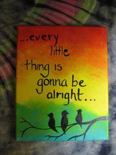New little bird quotes bob marley 68 ideas Trippy Painting, Painting & Drawing, Drawing Tips, Drawing Ideas, Mini Canvas Art, Diy Canvas, Bob Marley Painting, Bob Marley Art, Eminem