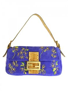 Fendi Vintage Royal Suede Purse |Pinned from PinTo for iPad|