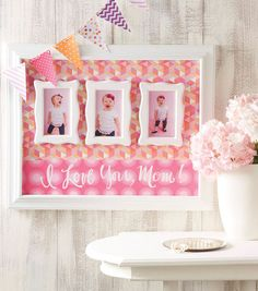 Mother's Day gift idea - picture frames. Jo-Ann Fabric