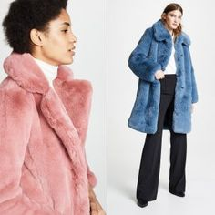 b05db47e90b What about a chubby faux fur coat in a fun color  Ridgely Brode finds some  fluffy jackets and coats on her blog