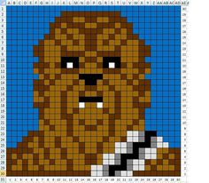 Chewbacca craft graph pattern