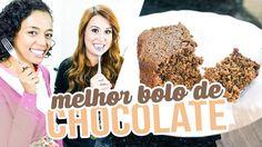 Bolo de Chocolate Fit - Com Tamy Gonçalves - Brincando de Ana Maria