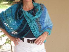 Ravelry: knitsabout's modular lace shawl