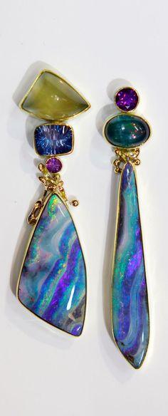 Beautiful mismatch earrings!
