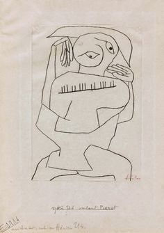 PAUL KLEE, 1879-1940. SuisseLe pianiste, 1940