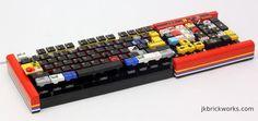 Un clavier en légo totalement opérationnel !