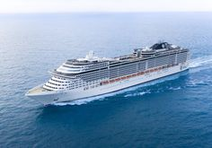 100 escalas de MSC Cruceros en Palma de Mallorca