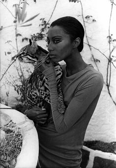 Donyale Luna is a cult figure who took the fashion world by storm in the mid-'60s, becoming the first African-American model to appear on the cover of Vogue.
