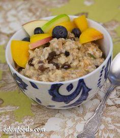 Hot Muesli Porridge