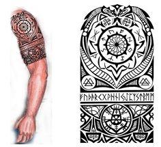 Viking Nordic Tattoo by thehoundofulster.deviantart.com on @deviantART