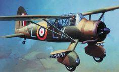 Westland Lysander Mk II by Roy Huxley