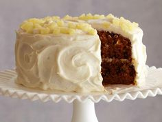 Carrot and Pineapple Cake