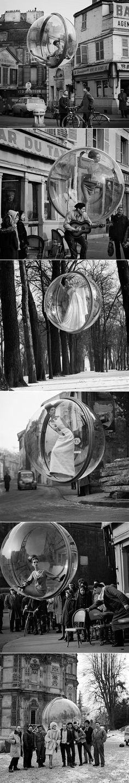 Magnifiques photos Bubble série par Melvin Sokolsky - Journal du Design