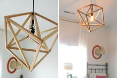 Cube Pendent Light | 25 DIY Lighting Projects