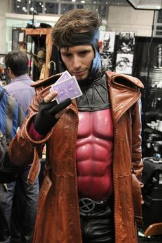 NYCC 2013 Cosplay. Great Gambit Cosplay.