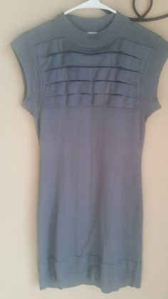 Banana Republic Cashmere Silk Blend  Dress Gray, Size Petite XS  | eBay