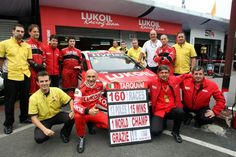 Lukoil Racing Team. Gabriele Tarquini