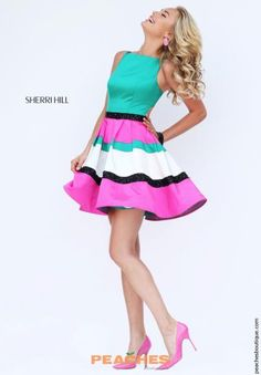 Sherri Hill 8th Grade Dance A Line Dress 50355