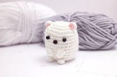 Kawaii Polar Bear from Mohu Blog