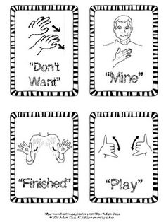 Functional Sign Language Flashcards by Autism Class Simple Sign Language, Sign Language Chart, Sign Language Phrases, Sign Language Alphabet, Learn Sign Language, Sign Language Interpreter, British Sign Language, Japanese Sign Language, Sign Language Colors
